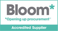 accreditation logo for Bloom